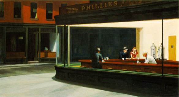 """Nighthawks"", Edward Hopper, 1942"